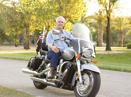 Motocykl bez jednorazowej amortyzacji