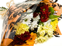 Kwiaty przekazywane kontrahentom oraz gościom firmy