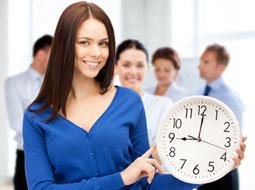 Zastosowanie ruchomego czasu pracy