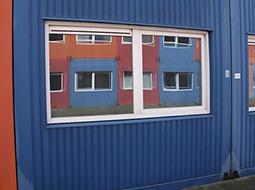 Budowa budynku gospodarczego i tymczasowego kontenera