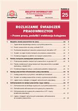 Rozliczanie świadczeń pracowniczych - Prawo pracy, podatki i ewidencja księgowa
