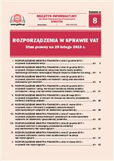 Rozporządzenia w sprawie VAT. Stan prawny na 20 lutego 2018r.