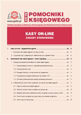 Kasy on-line - zasady stosowania
