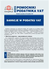 Sankcje wpodatku VAT