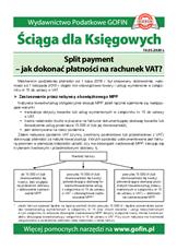 Split payment - jak dokonać płatności na rachunek VAT? - Ściągi i Pomocniki dla księgowych