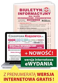 Biuletyn Informacyjny - GOFIN