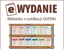 eWYDANIE - Biblioteka e-publikacji GOFINU