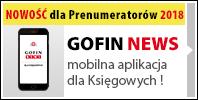 GOFIN NEWS - mobilna aplikacja dla Księgowych