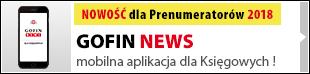 GOFIN NEWS - mobilna aplikacja dla Księgowych!