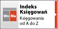 Indeks księgowań - Księgowanie od A do Z