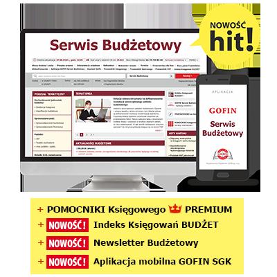 Serwis Budżetowy - GOFIN